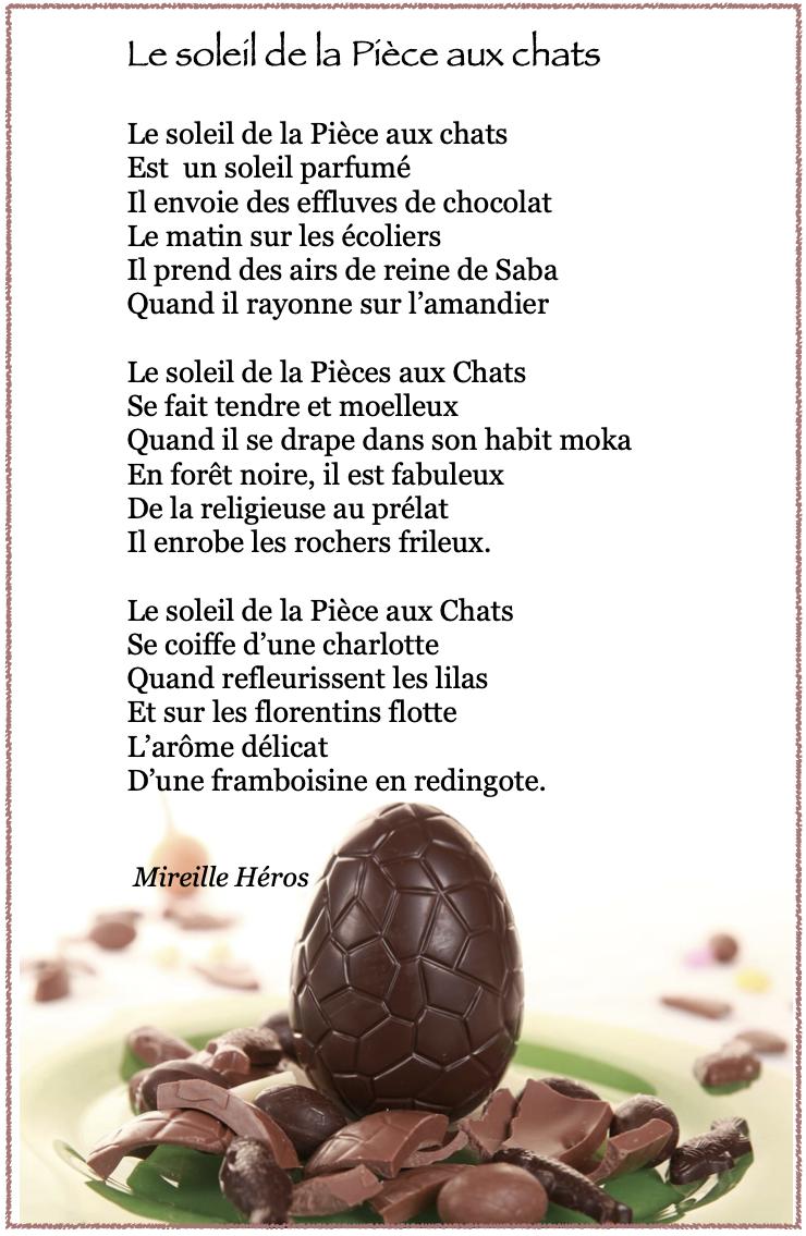 Poesie chocolat